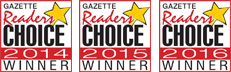 gazette readers choice awards